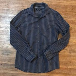 Marc Anthony Long Sleeve Button Down Dress Shirt